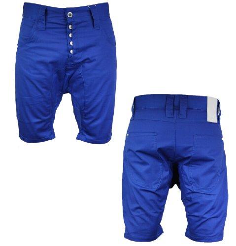Humor 8112432 Lago Mens Chino Shorts SS12 Blue/Purple XL