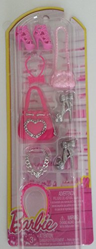 Barbie Fashionista Shoes, Purses, & Accessories (9 pc) BCN43 - 1