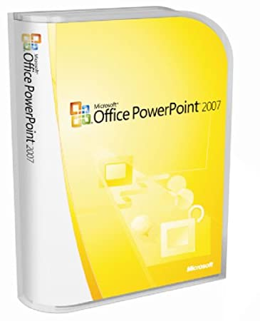 Microsoft PowerPoint 2007 Version Upgrade [Old Version]