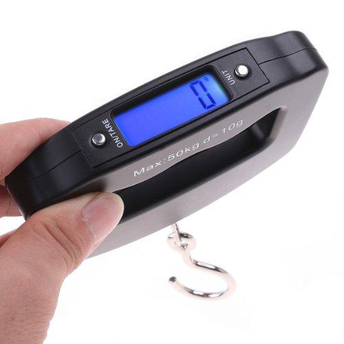 Weiheng® 50Kg*10G Mini Digital Hanging Luggage Fishing Weighing Scale