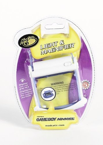 MADCATZ 12310 MAD Light and Screen Magnifier (Game Boy Advance Light Magnifier compare prices)