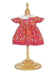 Corolle - W9371 - Vêtement Poupée 36cm- Mademoiselle Corolle - Robe Cerise