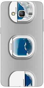 Snoogg Airplane Windows Case Cover For Samsung Galaxy Grand Duos 2 G7106