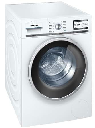 Siemens WM16Y840 Waschmaschine Frontlader / A+++ A / 1600 UpM / 8 kg / weiß / super15 / Nachlegefunktion / i-Dos/ EcoPlus