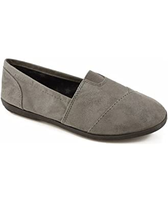 Soda Object Loafer Flats CHARCOAL (FREE SHIPPING on all add'l items) (8)