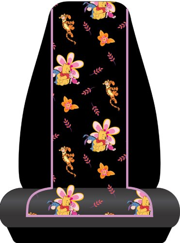 Pooh Paradise Universal-Fit Bucket Seat Cover