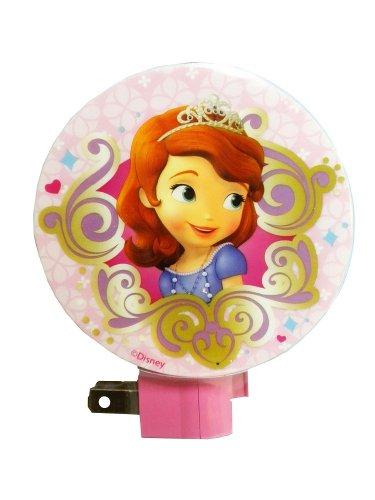 Disney Princess Sofia the First Kids Night Light (One Size, Pink)