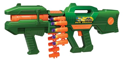Belt Blaster Nerf Shotgun with 30 Darts and Connectible Shells