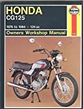 Honda CG125 (1976 to 1994) Owner's Workshop Manual (Haynes Owners Workshop Manuals) Pete Shoemark