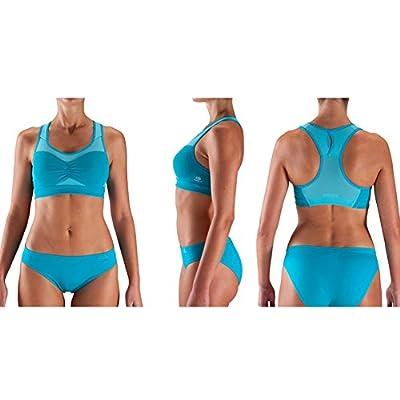 Professional Women's Plastotype Sports Bra Shock Absorber Bra-85C/Blue