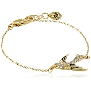 Juicy Couture Pave Bird Wish Bracelet, 7.26