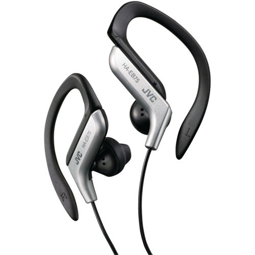 Jvc Stereo In-Ear Lightweight Water-Resistant Active Sport Headphones (Silver)