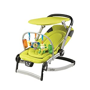 Peg-Perego 2010 Sdraietta Melodia Bouncer, Cedro (Discontinued by