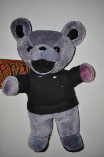 Grateful Dead Bean Bear Jerry Garcia in Black