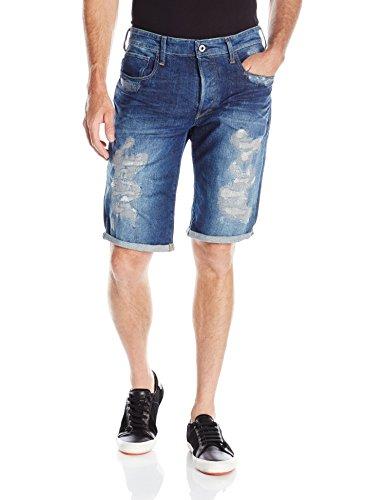 G-Star - Jeans 3301 Tapered 1/2, Uomo, Blu (Medium Aged Restored 70), 34 (48 IT)