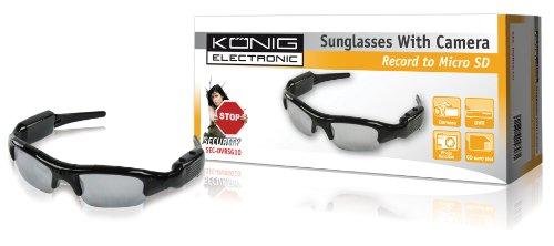 König SEC-DVRSG10 - Gafas de sol con cámara y grabadora
