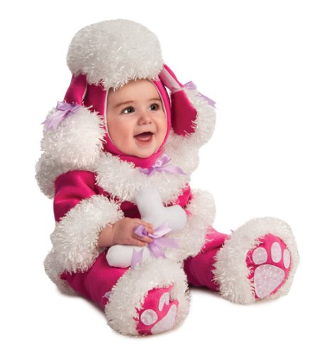 Rubie's Costume Noah's Ark Poodle Romper Costume, Pink, 12-18 Months - 1