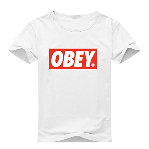 Obey Logo For 2016 Mens Printed Short Sleeve tops t shirts