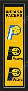Heritage Banner Of Indiana Pacers-Framed Awesome & Beautiful-Must For A... by Art and More, Davenport, IA