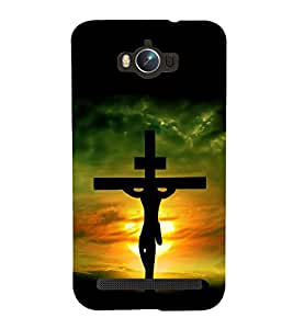 printtech Holy Cross Jesus Back Case Cover for Asus Zenfone Max ZC550KL