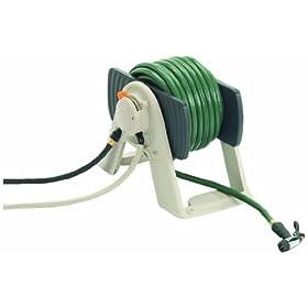 Suncast RSS150 150-Foot Water Powered Automatic Rewinding Garden Hose Reel
