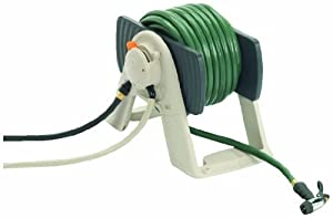 Suncast RSS150 150-Foot Water Powered Automatic Rewinding Garden Hose Reel (Discontinued by Manufacturer)