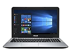 Asus A555LF-XX409D 15.6-inch Laptop (Core i3-5005U/4GB/1TB/DOS/Nvidia Graphics/2Year Onsite Warranty), Silver