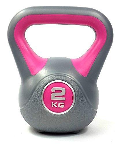 Vinyl Kettlebell Body Tone Strength Training Kettlebells 2KG 24KG