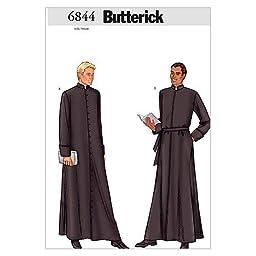 Butterick Patterns B6844 Men\'s Robe, Size 38-40-42 by BUTTERICK PATTERNS