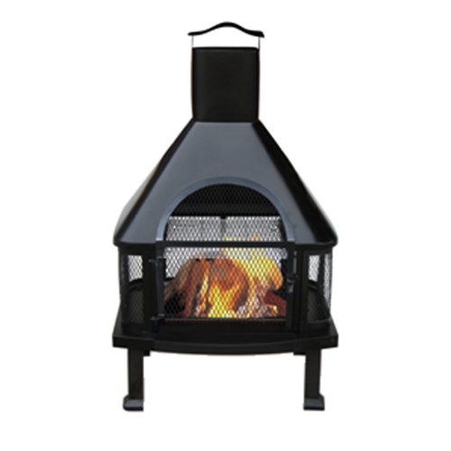Uniflame Outdoor Fireplace, Chimney