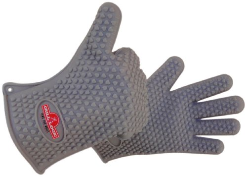 Silicone Grilling & BBQ Glove Set. Grill Logic Heat Resistant Gloves Can Withstand Temperatures Up To 425 Degrees. Replace Old Kitchen Oven Mitts And Gloves. These Waterproof Gloves Are Durable,Flexible,Anti Slip,Anti Stain And Easy To Clean. Lifetime Gua