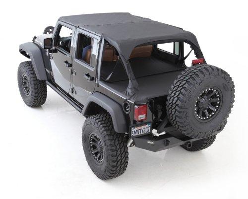 Jeep Wrangler TJ Bikini Top Header Strapless Style Black Diamond Bestop 03-06