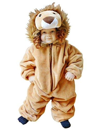 F57 92-98 Löwe Kostüm Baby Kleinkind Kostüme für Babys Karneval Fasching