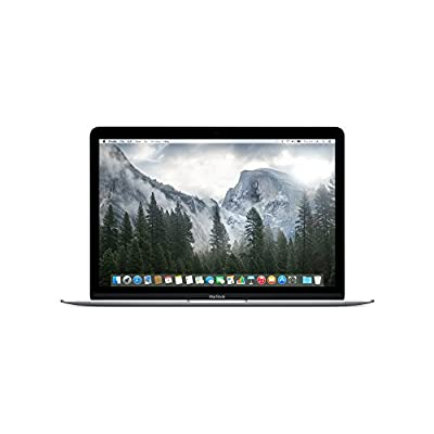 Apple MacBook MF865HN/A 12-inch Retina Display Laptop (Intel Core M/8GB/512GB/OS X Yosemite/Intel HD Graphics...