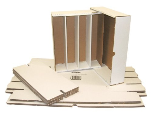 (5) BCW Brand Trading Card Cardboard Monster Storage Box with Full Lid – 3200 Card Capacity – BCW-3200