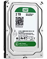 WD 内蔵HDD Green 2TB 3.5inch SATA3.0(SATA 6 Gb/s) 64MB Inteilipower 2年保証 WD20EZRX