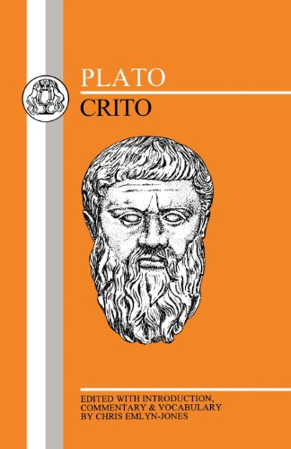 platos the crito essay Summary the crito records the conversation that took place in the prison where socrates was confined awaiting his execution it is in the form of a dialog betwe.