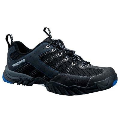 Shimano Men's Mountain Touring Bike Shoes - SH-MT33L (Black/Blue - 39)