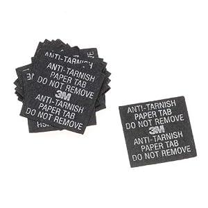 3M Anti-tarnish Tabs Strips 1 Inch x 1 Inch (20)