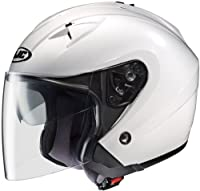 HJC Helmets IS-33 Helmet (White, Medium) by HJC Helmets