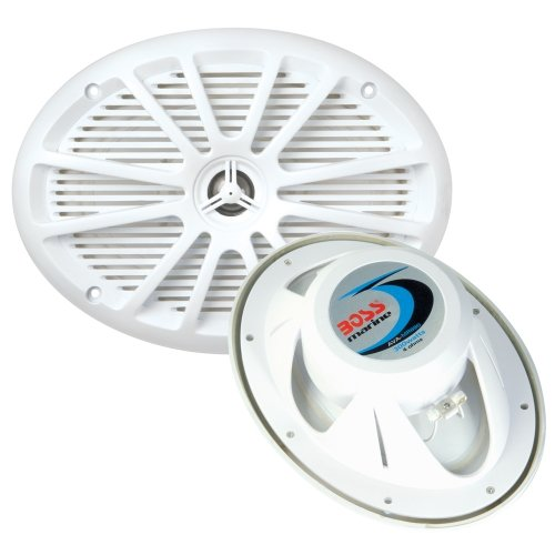 "Boss Audio Mr695 6"" X 9"" 2-Way Marine Speaker - (Pair) White"