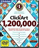 Clickart 1.2 Million DVD 2006 By Broderbund
