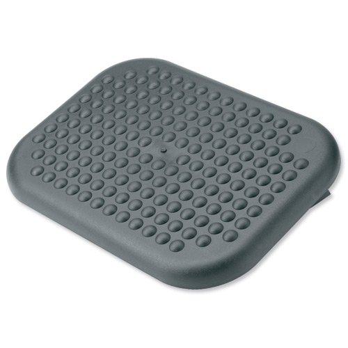 Compucessory Footrest Comfort Adjustable W450xD320xH80mm Charcoal Ref CCS 23752
