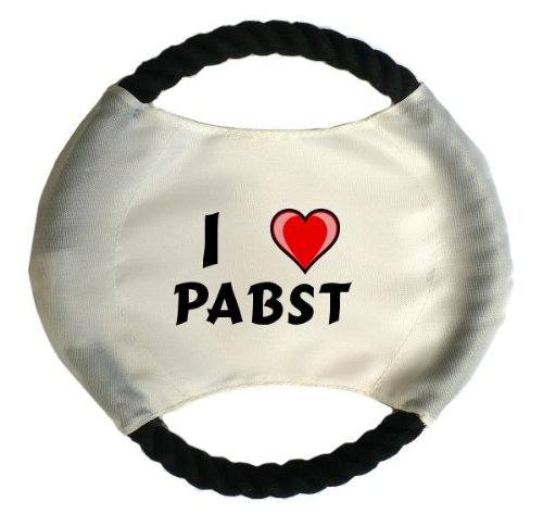 personalised-dog-frisbee-with-name-pabst-first-name-surname-nickname