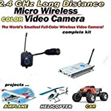 41HXgQ%2BvU L. SL160  WIRELESS RC CAR/HELICOPTER/PLANE MINI VIDEO CAMERA