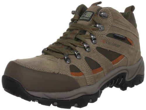 Karrimor Men's Bodmin Ii Mid Weathertite Taupe/Burnt Copper Walking Boot K300TBC161 12 UK