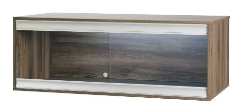 Hagen Vivexotic VX48 NEW Viva Terrestial Vivarium Large - WALNUT