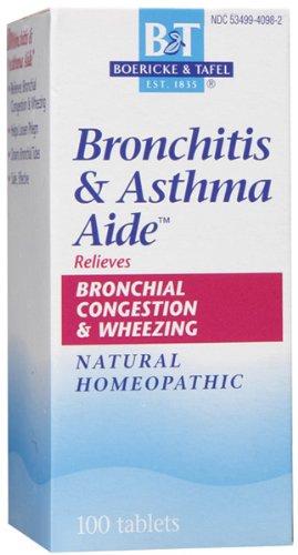 Boericke & Tafel - Bronchitis & Asthma Aide 100 tabs