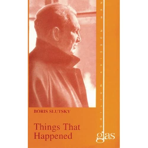 Things That Happened (New Russian Writing)