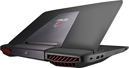 ASUS ROG G751JY-VS71(WX) 17-Inch Gaming Laptop, Nvidia GeForce GTX 980M , 16 GB RAM, 1 TB HDD (Win 10 Version)